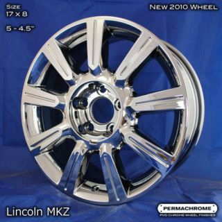 Lincoln MKZ 17 Chrome PVD Wheels Outright