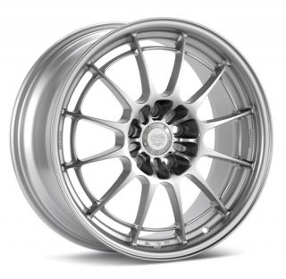 Enkei NT03 M Silver 18x8 5 5x120 38 Racing Series Wheel Rim