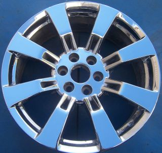XL SIERRA DENALI ESCALADE EXT ESV SUBURBAN 1500 22 CHROME WHEEL RIM