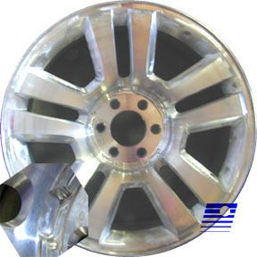 06 07 08 Ford F150 Harley Davidson Factory 22 x 9 Polished Charcoal