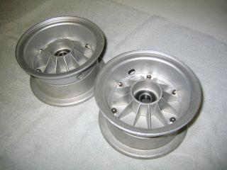 Vintage Kart Rupp Turbine Wheels with New Bearings