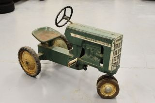 1962 Oliver 1800 Checkerboard Pedal Tractor Eska Garage Find
