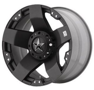 Rockstar Wheels Tires Black 20x8 5 XD775 Rockstar Offroad Rims