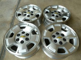 17 Chevy Yukon Suburban Factory Alloy Wheels Rims 6 Lug