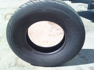 Three 225 75R15 10 Ply Tubeless RV camper Trailer Tires Load Range E