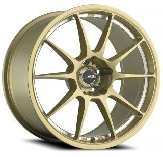 18x8 5 Konig Milligram Gold Wheel Rim s 5x114 3 5 114 3 5x4 5 18 8 5
