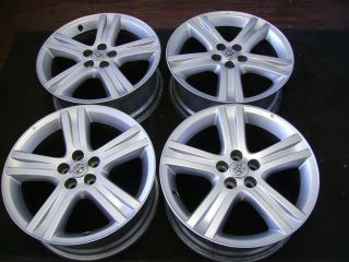 PRIUS COROLLA CELICA COROLLA MATRIX 17X7 FACTORY OEM ALLOY WHEELS RIMS