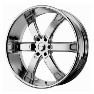 Brodie Wheel Set 26x10 Chrome rwd 6 Lug Vehicles 26inch Rims
