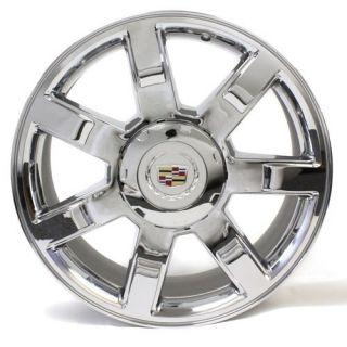 22 Cadillac Escalade Wheel Rim 5309 Chrome New