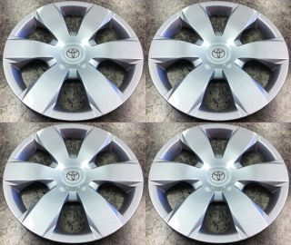 Set of 4 16 Wheel Covers Hubcaps Wheelcovers for Toyota