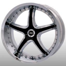 18 Enkei LS 5 Chrome Rims Wheels 350Z 370Z G35 G37