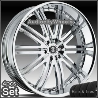 22inch Wheels Tires 300C Magnum Charger Lincoln Rims