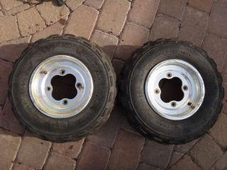 TRX400EX TRX 400EX 400 Front Wheels Rims Tires