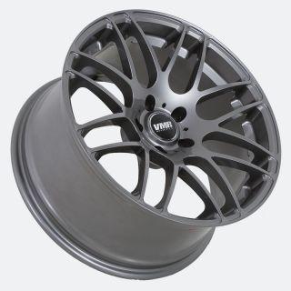 inch Gunmetal V718 Mesh Wheels Audi A4 A5 A6 S4 B6 B7 B8 Rims