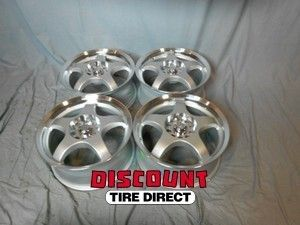 5x100 5x114 3 5 100 5 114 3 Five x Silver Machined Wheels Rims