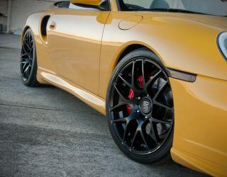 19 Ruger Mesh Wheels Black Porsche Panamera Turbo s GTS 4S 310 M310