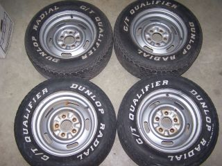 1969 Camaro SS Nova Chevelle SS Set of 4 YJ Rally Wheels or Rims 14x7