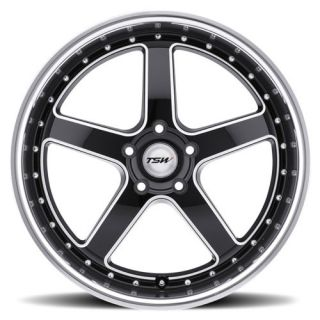 20 TSW Carthage Black Rims Tires 3 Series BMW Camaro