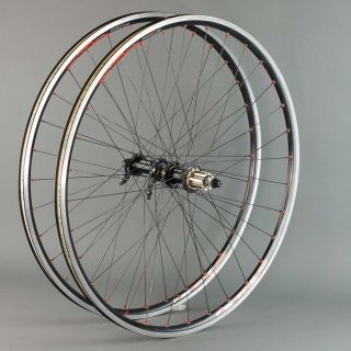 Campagnolo Record Wheelset with DT Swiss 1 1 Rims Road Bike