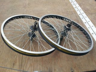 Awesome x rims by alex BMX Y303 6061 T6 With Vintage RL Logo on Hubs