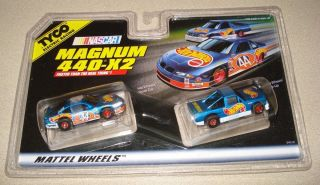 Tyco NASCAR Twin Pack Magnam 440 X2 Slot Car Pick Up Hot Wheels