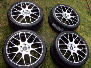 19 Mercedes E Wheels Tires E320 E430 E420 E350 E500 E55 E550 MHT Niche