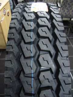 New 11R24 5 14 Ply Drive Truck Trailer Tire 1124 5