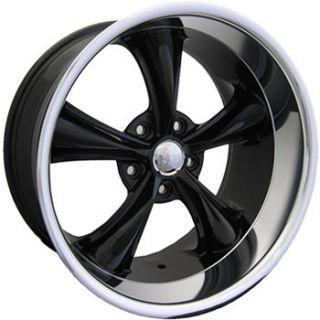 20x10 Black Wheel Boss 338 5x5 Chevy Impala Rims