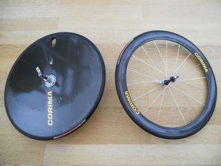 Corima Carbon Disc Rear Deep Section Front Wheel Set