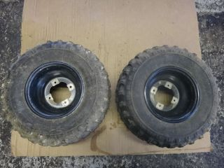 YFZ450 YFZ 450 Raptor 660 700 Rear Wheels Rims Tires