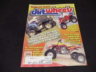 1996 Dirt Wheels Arctic Cat Bearcat 454 4x4 TRX300EX Polaris 6x6