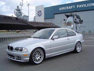 + TIRES CSL STYLE SILVER RIM FIT BMW E46 E90 128 135 323 325 328 330