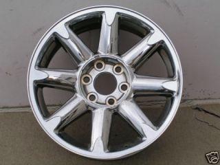 20 GMC Sierra Denali Suburban Yukon Chrome Rim Wheel