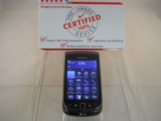 BLACK RIM Blackberry Torch 9800 GSM AT T UNLOCKED Smartphone 4GB SD