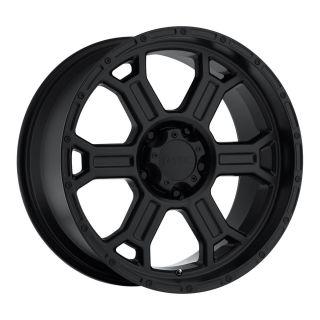 17 x9 inch V Tec Raptor Black Wheels Rims 6x135 F150