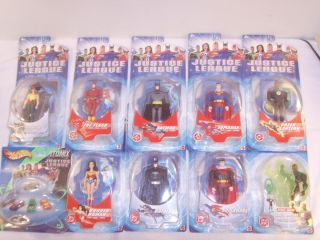 DC Comics Justice League Action Figures 1 Hot Wheels Mattel