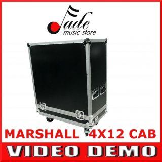 Road Case for Marshall 412 Guitar Amp Speaker Cabinet 4 Wheels
