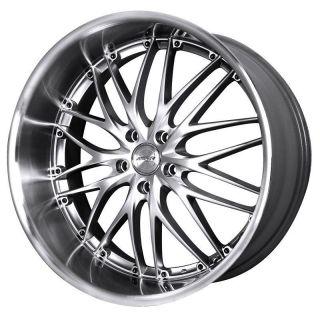 19 MRR GT1 Silver Rims Wheels Nissan 350Z 370Z Infiniti G35 G37