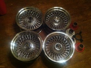 Wire Wheels Dayton Triple Cross 17x9