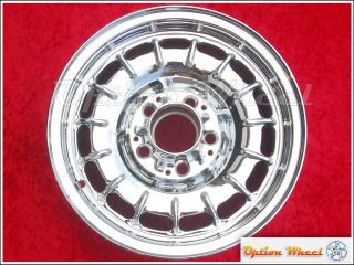 Single 14 Mercedes Benz 300D 380SL 500SEL OEM Chrome Wheel Rim 65133