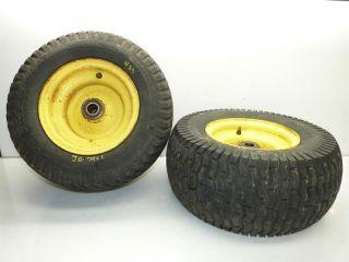 John Deere 425 AWS Tractor Carlisle 16x7 50 8 Front Tires Rims