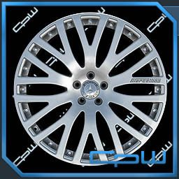 Silver Mercedes Benz s CL 500 550 600 Wheels Rims