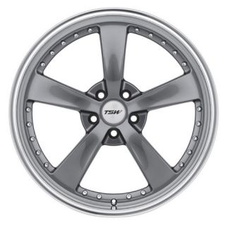 18 TSW Strip Gunmetal Wheels Rims 5x4 5 5 Lug 2005 2011 New Ford