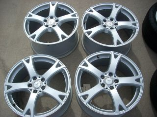 19 2012 Staggered Mercedes S600 Wheels Rims CL600 S550 CL550