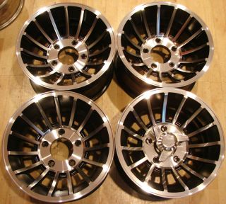 Western Wheels Cyclone II Turbine Rims 5x5 5 Ford Dodge JEEP 5 LUG 4X4