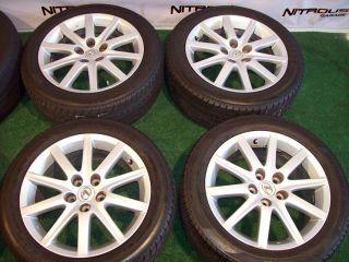 17 Lexus OEM Wheels Factory Silver ES300 ES330 ES350 GS300 GS400 GS430