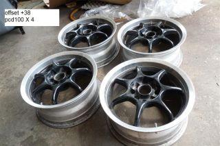 JDM Enkei RS Racing 15 Wheels Rims EG6 CRX EF9 EF8 DC2 Rays