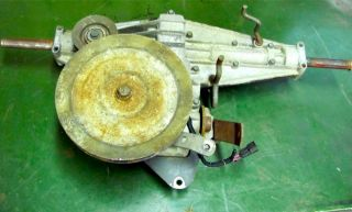 TRANSMISSION from a JOHN DEERE SX75 OR RX75 RIDING LAWN MOWER. THE