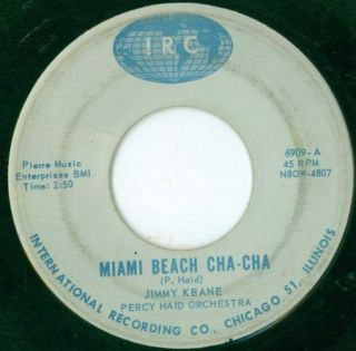 Jimmy Keane IRC Miami Beach Cha Cha