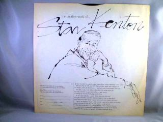 Stan Kenton Artistry in Bossa Nova Capitol Mono LP